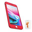 رخيصةأون أغطية أيفون-غطاء من أجل Apple إفون 8 iPhone 8 Plus مثلج غطاء كامل للجسم لون الصلبة ناعم TPU إلى iPhone 8 Plus iPhone 8 iPhone 7 Plus iPhone 7 iPhone