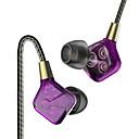 Недорогие Кейсы, сумки и ремни-PHB EP016 В ухе Проводное Наушники динамический пластик Pro Audio наушник С регулятором громкости / С микрофоном наушники