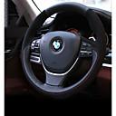 رخيصةأون أطواق ومقاود الكلاب-أغطية إطارات القيادة جلد أصلي أسود من أجل BMW X3 / X5 / 3 سلسلة كل السنوات