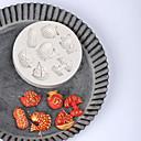 hesapli Drinking Tools-Bakeware araçları Silika Jel Tatil / Doğum Dünü / Yeni Yıl'ınkiler Candy Yuvarlak 1pc