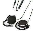 hesapli USB Kabloları-LIZU TY906 Kulak Kancası Kablolu Kulaklıklar Dinamik Bakır Cep Telefonu Kulaklık Mikrofon ile kulaklık