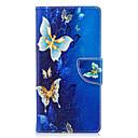 ieftine Împachetare Bijuterii & Ecrane-Maska Pentru Sony Xperia XA2 Ultra / Xperia XA2 / Xperia XZ1 Compact Portofel / Titluar Card / Cu Stand Carcasă Telefon Fluture Greu PU piele