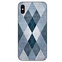 お買い得  iPhone 用ケース-ケース 用途 Apple iPhone X / iPhone 8 パターン バックカバー 幾何学模様 ソフト TPU のために iPhone X / iPhone 8 Plus / iPhone 8