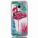 hesapli Galaxy S Serisi Kılıfları / Kapakları-Pouzdro Uyumluluk Samsung Galaxy S8 Plus S8 Temalı Arka Kapak Flamingo Yumuşak TPU için S8 Plus S8 S7 edge S7 S6 edge plus S6 edge S6 S5