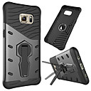 cheap Galaxy S Series Cases / Covers-Case For Samsung Galaxy S7 edge Shockproof / with Stand / 360° Rotation Back Cover Armor Hard PC for S7 edge