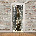 tanie Otwieracze i akcesoria barowe-Zwierzęta 3D Naklejki Naklejki ścienne lotnicze Naklejki ścienne 3D Dekoracyjne naklejki ścienne Naklejki na drzwi, Winyl Dekoracja domowa