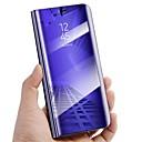 levne Galaxy S pouzdra / obaly-Carcasă Pro Samsung Galaxy S9 Plus / S9 se stojánkem / Zrcadlo / Flip Celý kryt Jednobarevné Pevné PU kůže pro S9 / S9 Plus / S8 Plus