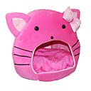 preiswerte Bekleidung & Accessoires für Hunde-Katzen Betten Haustiere Matten & Polster Solide Cartoon Design Tragbar Klappbar Rosa Für Haustiere