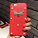 tanie Etui do iPhone-Kılıf Na Apple iPhone X iPhone 7 Plus Wzór Czarne etui Solid Color Twarde Skóra PU na iPhone X iPhone 8 Plus iPhone 8 iPhone 7 Plus