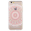 ieftine Carcase iPhone-Maska Pentru Apple iPhone 8 Plus / iPhone 8 / iPhone 7 Plus Model Capac Spate Mandala / Floare Moale TPU