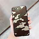 お買い得  iPhone 用ケース-ケース 用途 Apple iPhone X iPhone 7 Plus パターン バックカバー カモフラージュ ソフト TPU のために iPhone X iPhone 8 Plus iPhone 8 iPhone 7 Plus iPhone 7 iPhone 6s