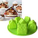 hesapli Fırın Araçları ve Gereçleri-Bakeware araçları Silikon Pişirme Kaplar İçin / Pasta Pasta Kalıpları 1pc