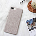 baratos Cool & Fashion Cases para iPhone-Capinha Para Apple iPhone X / iPhone 7 Plus Estampada Capa traseira Côr Sólida Rígida PC para iPhone X / iPhone 8 Plus / iPhone 8
