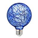 Χαμηλού Κόστους Λαμπτήρες LED σφαίρα-BRELONG® 3 W LED Λάμπες Σφαίρα 300 lm E26 / E27 95 LED χάντρες SMD Διακοσμητικό Κόκκινο Μπλε Πράσινο 220-240 V, 1pc