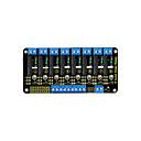 baratos Terminais e Conectores-Keyestudio módulo de relé de estado sólido de oito canais para arduino