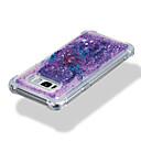 hesapli Bilezikler-Pouzdro Uyumluluk Samsung Galaxy S8 Plus S8 Şoka Dayanıklı Akan Sıvı Temalı Arka Kapak Işıltılı Parlak Düşkapanı Yumuşak TPU için S8 Plus