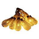 hesapli LED Mısır Işıklar-JIAWEN 5m Dizili Işıklar 20 LED'ler Dip Led Sıcak Beyaz Su Geçirmez 220 V / 110 V / IP44