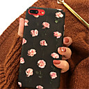 رخيصةأون أغطية أيفون-غطاء من أجل Apple iPhone X / iPhone 8 Plus / iPhone 8 نموذج غطاء خلفي زهور قاسي أكريليك