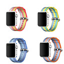 voordelige Apple Watch-bandjes-Horlogeband voor Apple Watch Series 3 / 2 / 1 Apple Sportband Nylon Polsband