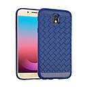 저렴한 갤럭시 J 시리즈 케이스 / 커버-케이스 제품 Samsung Galaxy J5 Prime J5 (2017) 충격방지 뒷면 커버 한 색상 소프트 TPU 용 J5 Prime J5 (2017) J5 (2016)