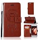 Χαμηλού Κόστους Θήκες / Καλύμματα για Huawei-tok Για Huawei P20 / P20 lite Πορτοφόλι / Θήκη καρτών / Ανοιγόμενη Πλήρης Θήκη Κουκουβάγια Σκληρή PU δέρμα για Huawei P20 / Huawei P20 lite / P10 Plus / P10 Lite