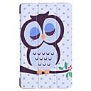 ieftine Carcase Tabletă-Maska Pentru Huawei MediaPad Huawei MediaPad T3 7.0 Cu Stand Carcasă Telefon Cuvânt / expresie / Animal / Turnul Eiffel Greu PU piele