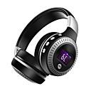 رخيصةأون سماعات على الأذن-سماعة فوق الأذن سلكي السفر والترفيه بلوتوث 4.1 مع التحكم في مستوى الصوت