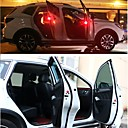 hesapli Yenilikçi LED Işıklar-2pcs Gece aydınlatması LED Kırmızı Otomatik anahtar Güvenlik Acil LED Araba Ampulü Araba Dekorasyonu Kapı lambası