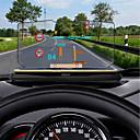 hesapli Rear View Monitor-Ziqiao evrensel araba gps araba ekran için hud head up ekran tutucu km / h mil