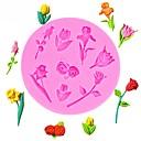 hesapli Fırın Araçları ve Gereçleri-Sevgililer günü güller çiçekler şekilli fondan silikon kalıplar şekerleme aksesuarları için kek dekorasyon pişirme araçları