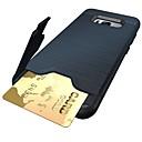 Недорогие Чехлы и кейсы для Galaxy S-Кейс для Назначение SSamsung Galaxy S9 Plus / S9 Бумажник для карт / Защита от удара / со стендом Кейс на заднюю панель броня Мягкий ТПУ для S9 / S9 Plus / S8 Plus