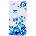 levne Galaxy S pouzdra / obaly-Carcasă Pro Samsung Galaxy S8 Plus / S8 Peněženka / Pouzdro na karty / se stojánkem Celý kryt Květiny Pevné PU kůže pro S8 Plus / S8 / S7 edge