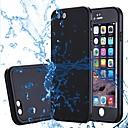 hesapli Kolyeler-Pouzdro Uyumluluk Apple iPhone X iPhone 8 Plus Su Geçirmez Tam Kaplama Kılıf Solid Yumuşak Silikon için iPhone X iPhone 8 Plus iPhone 8