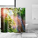 hesapli Tablet Kılıfları-Shower Curtains & Hooks Neoklasik Ülke Polyester Yenilik Makine Yapımı Su Geçirmez Banyo