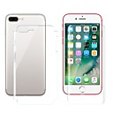 abordables Fundas para iPhone-Protector de pantalla para Apple iPhone 8 Plus Hidrogel de TPU 2 pcs Protector de Pantalla Posterior y Frontal Alta definición (HD) / Anti-Arañazos / Anti-Huellas