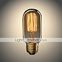 cheap Incandescent Bulbs-UMEI™ 1pc 40W E26/E27 T45 Warm White 2300 K Incandescent Vintage Edison Light Bulb AC 110-130V AC 220-240V V