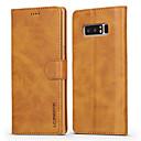 preiswerte Galaxy Note Serie Hüllen / Cover-Hülle Für Samsung Galaxy Note 8 Geldbeutel / Kreditkartenfächer / mit Halterung Ganzkörper-Gehäuse Solide Hart PU-Leder für Note 8