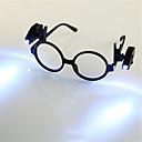 preiswerte Ausgefallene LED-Lichter-HKV 2pcs Lupen LED-Nachtlicht Kühles Weiß Knopf Batteriebetrieben Buch lesen mit Clip Einfach zu tragen Batterie Tong
