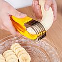 رخيصةأون أدوات & أجهزة المطبخ-الفولاذ المقاوم للصدأ الموز القطاعة الخيار الموز القاطع لحم الخنزير شفرة أدوات الفاكهة الخضار
