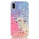 hesapli Makyaj ve Tırnak Bakımı-Pouzdro Uyumluluk Apple iPhone X iPhone 8 Temalı Arka Kapak Mermer Sert PC için iPhone X iPhone 8 Plus iPhone 8 iPhone 7 Plus iPhone 7