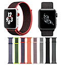 abordables Bracelets Apple Watch-Bracelet de Montre  pour Apple Watch Series 4/3/2/1 Apple Boucle Moderne Nylon Sangle de Poignet