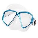 hesapli Büyüteçler-TUO Şnorkel Maskesi / Yüz Maskesi Gözlüğü Buğlanma Yapmayan İki Pencere - Yüzme, Dalış Silikon Kauçuk - için Yetişkinler Sarı / Kırmzı /