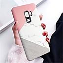 preiswerte Galaxy S Serie Hüllen / Cover-Hülle Für Samsung Galaxy S9 Plus / S9 IMD Rückseite Marmor Hart PC für S9 / S9 Plus