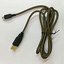 preiswerte Ohrringe-Kabel Für Nintendo DS / Nintendo 3DS / Nintendo 3DS New Kabel ABS 1 pcs Einheit 1.5 cm