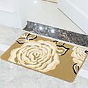 preiswerte Matten & Teppiche-1pc Freizeit / Modern Badvorleger 100g / m2 Polyester gestricktes Stretch Blumenmuster Rechteck Rutschfest