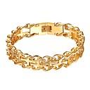 cheap Rings-Chain Bracelet - Cross Fashion Bracelet Gold / Black / Silver For Daily