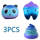 hesapli Telefon Kabloları ve Adaptörleri-MINGYUAN Stres Gidericiler Panda Ebeveyn-Çocuk Etkileşimi / Dekompresyon Oyuncakları / Sevimli 3pcs Hepsi Hediye
