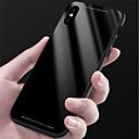 hesapli iPhone Kılıfları-Pouzdro Uyumluluk Apple iPhone X / iPhone 8 Ayna Arka Kapak Solid Sert Temperli Cam için iPhone X / iPhone 8 Plus / iPhone 8