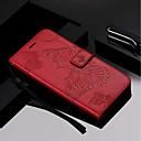 رخيصةأون حافظات / جرابات هواتف جالكسي J-غطاء من أجل Samsung Galaxy J8 / J7 Duo / J6 محفظة / حامل البطاقات / مع حامل غطاء كامل للجسم فراشة قاسي جلد PU