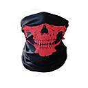 levne Další rybářské příslušenství-Sportovní maska Face Mask Headsweat Červená Zelená Modrá Zahřívací Jízda na kole Fitness, Běhání & Yoga Outdoor a turistika Venkovní cvičení Cyklistika / Kolo Unisex Lebky Spandex / Elastické